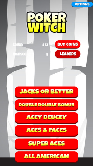 Video Poker Witch: Play Bet Win - FREE Edition