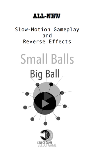 Balls Meet: Connect the black balls with over 100 levels