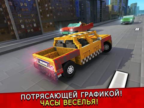 Такси Выживание . Mine бесплатно таксист гонка игры для детей (Taxi Survival) Скриншоты8