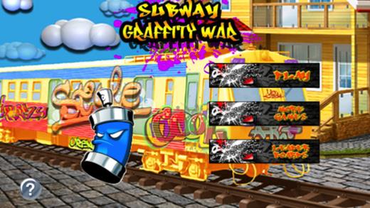 Subway Graffiti War : Drops Of Burning When Touching The Skin
