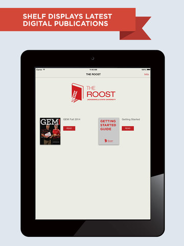 The Roost for iPad