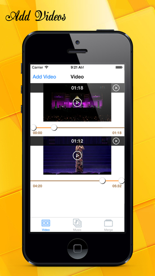 InstaVideo Unlimited - Add background music to videos