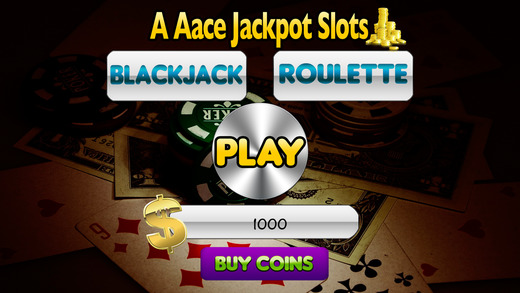 A Aace Jackpot Slots and Blackjack Roulette
