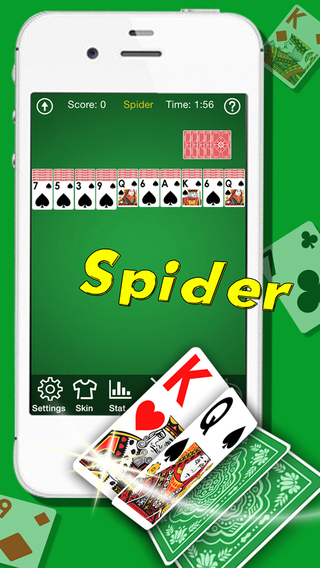 Spider Solitaire Pro- Patience Card Blitz Games