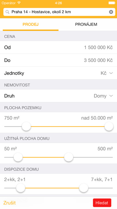 Reality.CZ iPhone Screenshot 4
