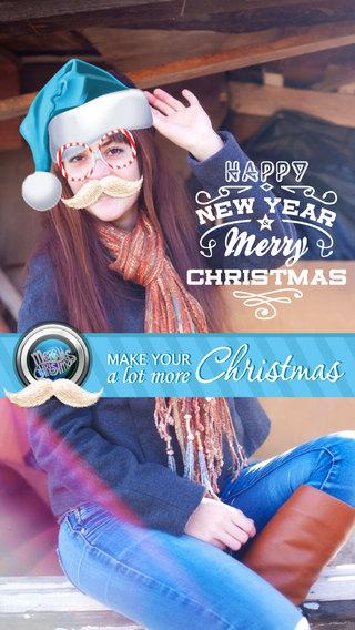 Santa Claus Holiday Photo Booth Editor - Merry Christmas Sticker Xmas Festive Meme Effect Camera