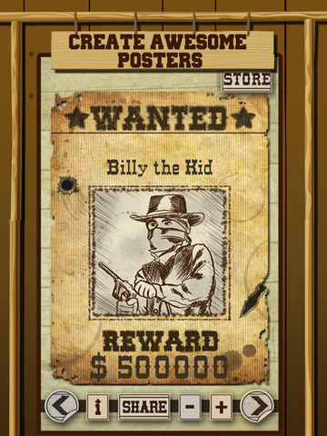 Wild West Wanted Poster Maker - Make Your Own Wild West ...
