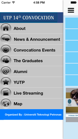 【免費教育App】UTP Convocation 2014-APP點子