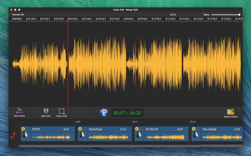 Audio Edit Pro - Merge Split Screenshot - 1