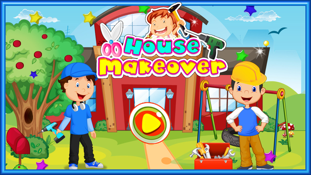 House Makeover – Fix the home accessories clean up the rooms in this kid's game