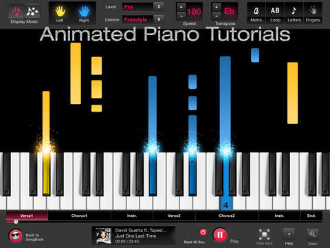 The best piano apps for ipad apppicker for Strumento online gratuito piano piano