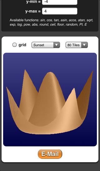 3D Plotter iPhone Screenshot 1
