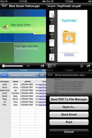 EliteReader - Open Office Documents & PDF screenshot 2