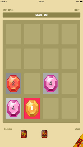 Jewel Number Puzzle - Add and Match Logic Challenge