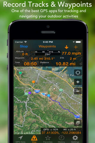 GPS Tracks screenshot 1
