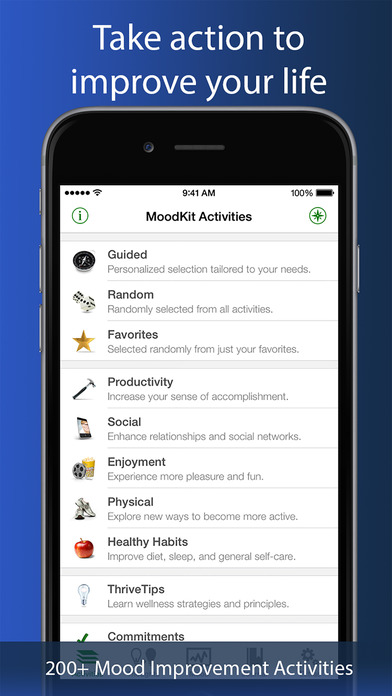 MoodKit - Mood Improvement Tools screenshot 2