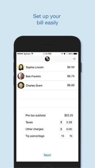 Splitsies - Split the bill automatically with Venmo
