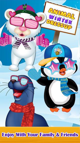 Animal Winter Dress up - Fun Makeover Games for Children