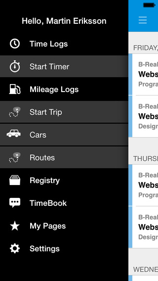 TimeApp Time Tracker