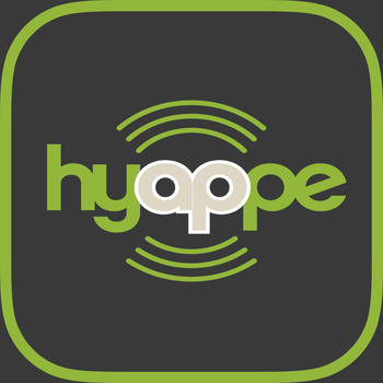 Hyappe LOGO-APP點子