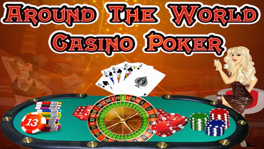 Around the World VIP Casino Millions Lucky Vegas Poker Club