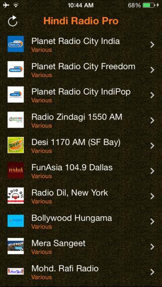 Hindi Radio Pro - India Radio for Bollywood Hindi Desi Music