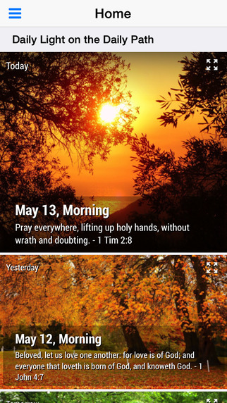 Daily Light on the Daily Path Lite - Daily Devotional