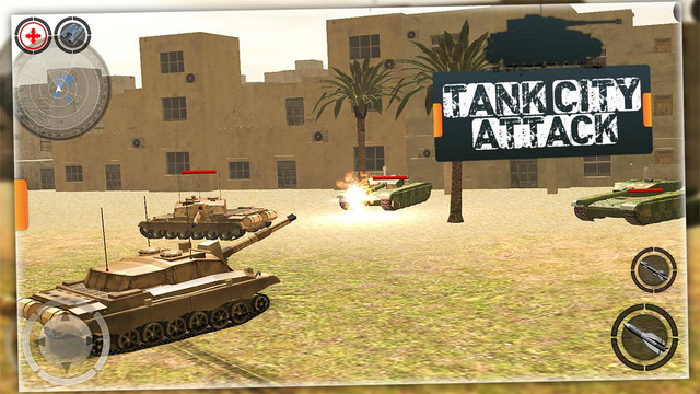 War Tank City Attack 3D - Heavy Armored Panzer Tank Strike against Modern Tanks in Battlefield