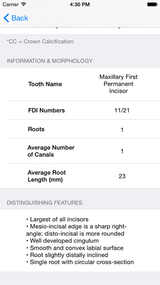 免費下載教育APP|Tooth Morphology - Your Quick Reference Guide app開箱文|APP開箱王