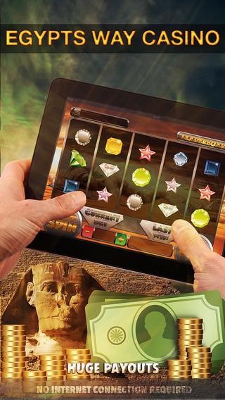 Egypts Way Casino Slots - FREE Slot Game Luck in Casino Machine