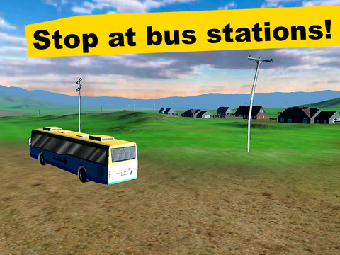 Country Bus Simulator 3D screenshot 7