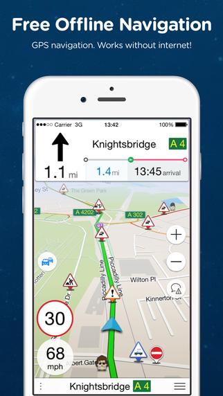 Navmii GPS Denmark: Navigation Maps and Traffic Navfree GPS