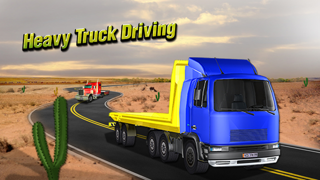 Heavy Truck Driving Simulator 3D - Play Trucker Driver Simulation Game on Real City Roads