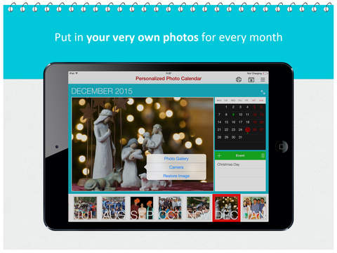 Personalized Photo Calendar – Customize it for every month