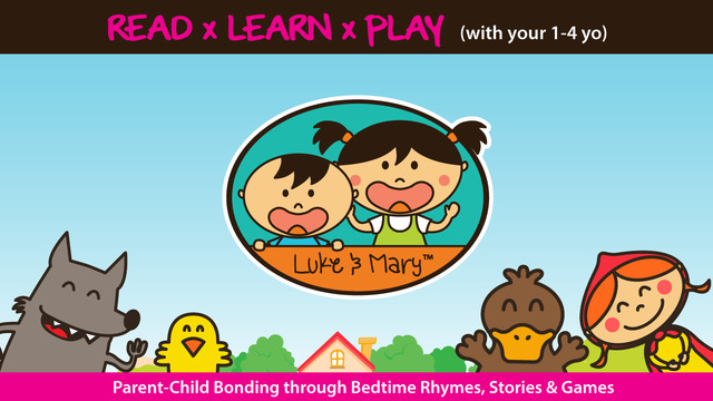 Luke Mary: Baby Games and Nursery Rhymes Ad Free