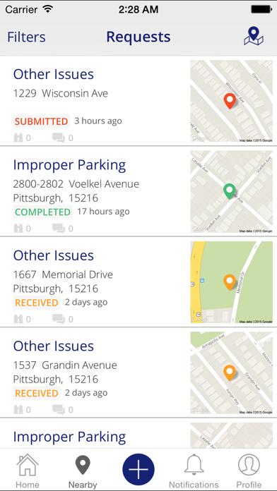 Bristol PublicStuff iPhone Screenshot 3