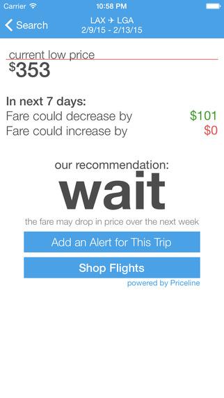 FareScout - Flight Search Airfare Prediction