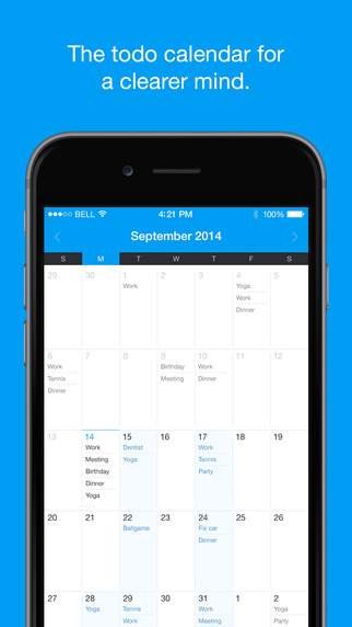 QuickNote Calendar - Easy Daily Todo List Task Manager Free Version