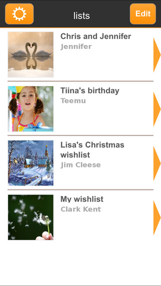 WishSimply - free and simple WishList app