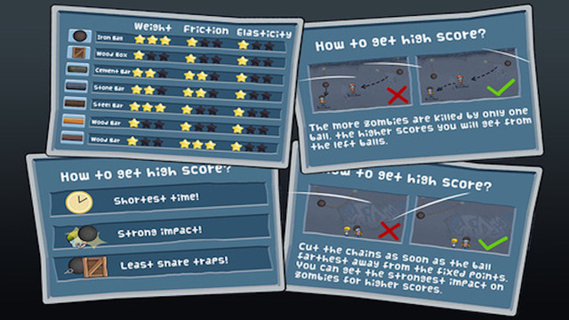 Cut The Chains: Kill The Zombie Physics Game
