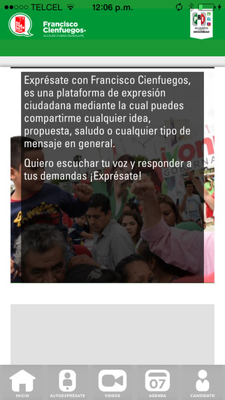 Exprésate con Francisco Cienfuegos