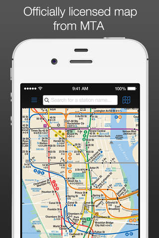 New York Subway MTA Map screenshot 1
