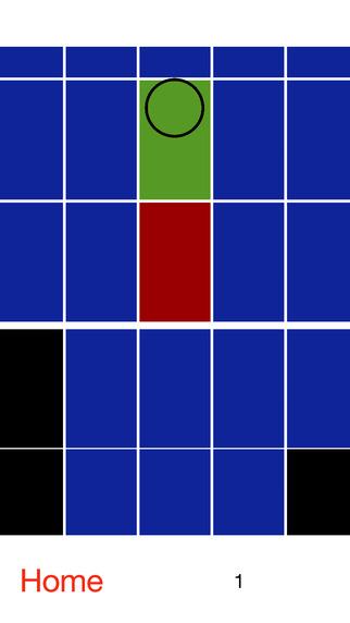 Blue - avoid black