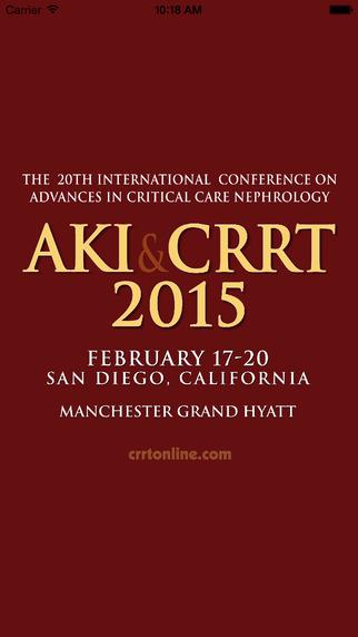 CRRT 2015