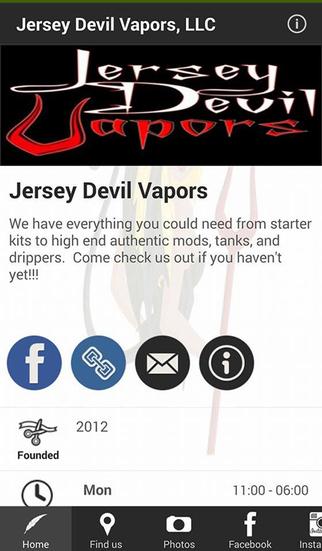 Jersey Devil Vapors