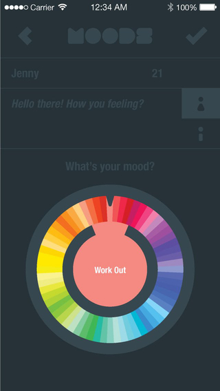 MOODS - colorful networking