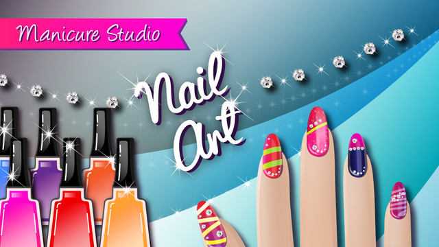 Nail Art Manicure Studio - Beauty Salon Game for Girls to Create Cute Nails Makeover Designs