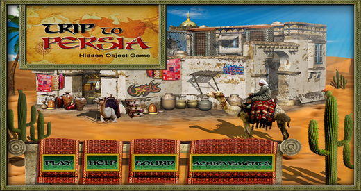 Trip to Persia - Free Hidden Object Games