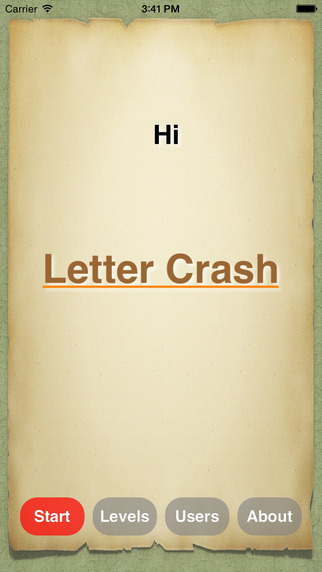 Letter Crash