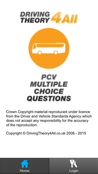 UK PCV Driving Theory Test - Practice Questions